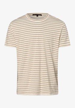 DRYKORN - T-Shirt print - beige weiß