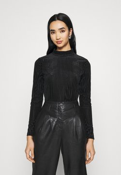 Monki - PIRA - Langarmshirt - black