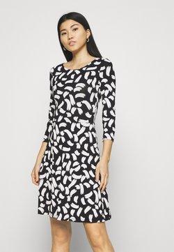 Anna Field - Vestido ligero - black/white