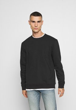 Only & Sons - ONSVINCENT CREW NECK - Sweatshirt - solid black