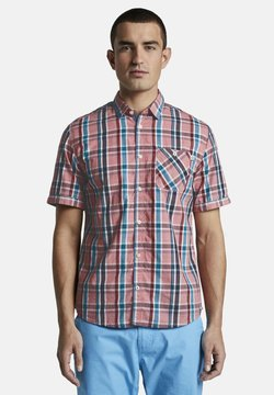 TOM TAILOR - RAY COLOURFUL CHECK PACKAGE - Hemd - red