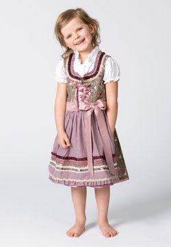 Stockerpoint - EMMA - Dirndl - nuss-bordeaux