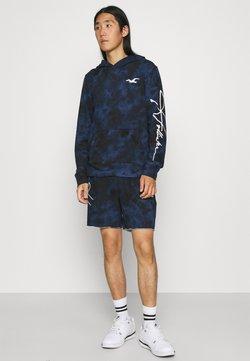 Hollister Co. - PRINT LOGO MATCHBACK - Sweatshirt - navy wash