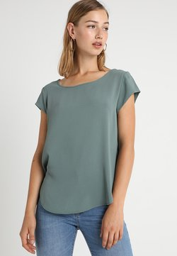 ONLY - ONLVIC SOLID  - T-Shirt print - balsam green