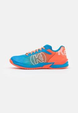 Kempa - ATTACK THREE 2.0 - Zapatillas de balonmano - blue/flou red