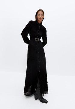 Uterqüe - Długa sukienka - black