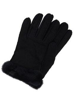 UGG - SHORTY GLOVE TRIM - Rękawiczki pięciopalcowe - black