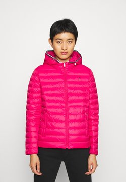 Tommy Hilfiger - ESSENTIAL - Daunenjacke - ruby jewel