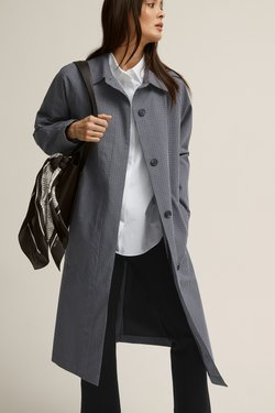 STOCKH LM - Kurzmantel - grey, light grey, light grey