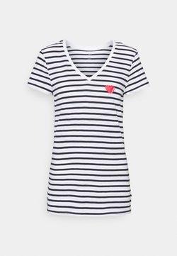 Gap Tall - T-Shirt print - heart navy