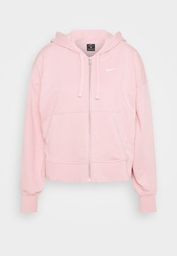 Nike Performance - DRY GET FIT  - Felpa aperta - pink glaze/white