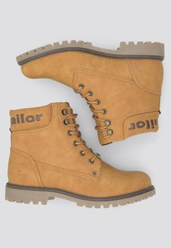 TOM TAILOR - Snowboot/Winterstiefel - brandy