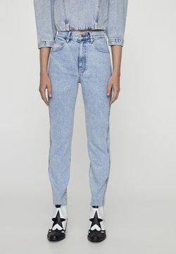 PULL&BEAR - Slim fit jeans - blue-black denim