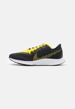 Nike Performance - ZOOM RIVAL FLY 2 - Zapatillas de running neutras - black/opti yellow/white