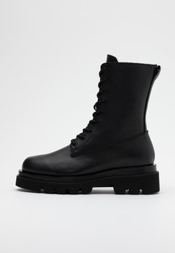 Toral - Plateaustiefelette - black