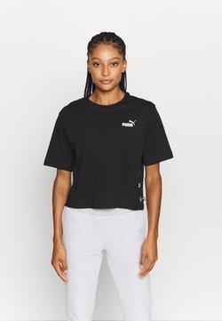 Puma - AMPLIFIED TEE - T-Shirt print - black