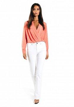 Jacky Luxury - MET PRINT - Blouse - logo print pink