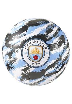 Puma - MAN CITY ICONIC BIG CAT - Voetbal - black-team light blue