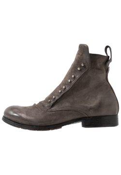 A.S.98 - CLASH - Cowboy/biker ankle boot - smoke