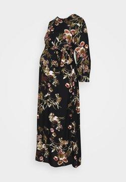 Pieces Maternity - PCMBRENNA ANKEL DRESS  - Vestido informal - black