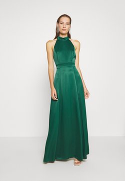 IVY & OAK - LONG NECKHOLDER DRESS - Ballkleid - eden green
