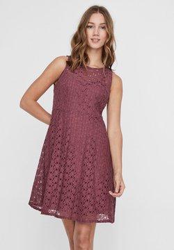 Vero Moda - VMALLIE  - Cocktailkleid/festliches Kleid - rose brown