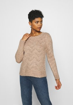 Pieces - NOOS - Sweter - natural