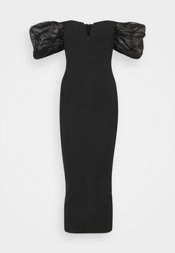 Missguided Tall - SLEEVE BANDAGE DRESS - Cocktailjurk - black
