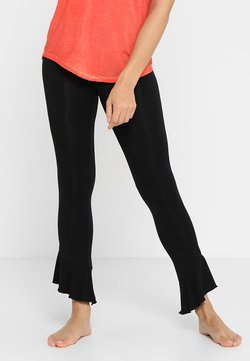 Curare Yogawear - FANCY PANTS - Jogginghose - black