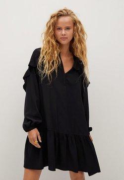 Mango - Korte jurk - schwarz