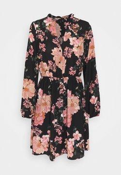 Vero Moda - VMSUNILLA DRESS  - Freizeitkleid - black/sunilla