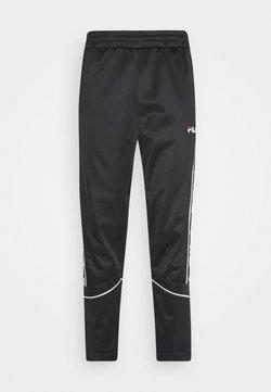 Fila - TED TRACK PANTS - Jogginghose - black