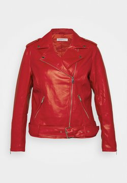 Glamorous Curve - JACKET - Jacka i konstläder - red
