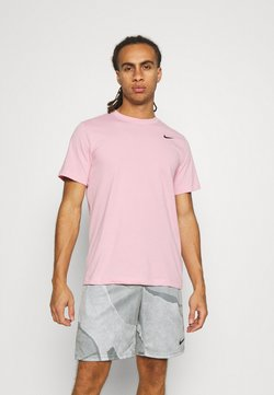 Nike Performance - TEE CREW SOLID - T-Shirt basic - pink glaze