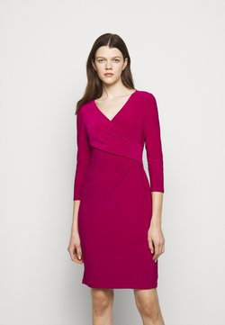 Lauren Ralph Lauren - MID WEIGHT DRESS - Etuikleid - modern dahlia