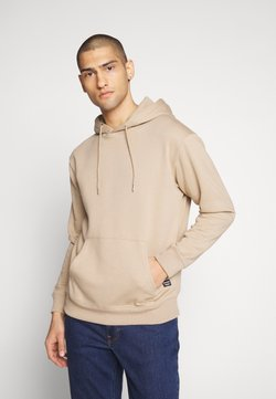 Jack & Jones - JJESOFT SWEAT HOOD NOOS - Hoodie - crockery