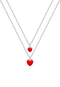 Elli - 2 PACK HEART - Collar - rot