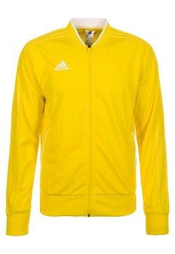 adidas Performance - CONDIVO 18 TRACK TOP - Verryttelytakki - yellow