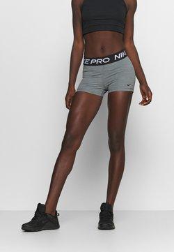 Nike Performance - 365 SHORT - Tights - smoke grey/heather/black