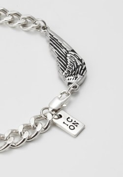 Icon Brand - WING CHARM BRACELET - Rannekoru - silver-coloured