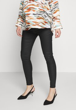 River Island Maternity - MOLLY MATERNITY JOYRIDERL JUNE FLOW - Jeans Skinny Fit - coated black