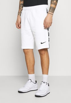 Nike Sportswear - REPEAT  - Shorts - white/black