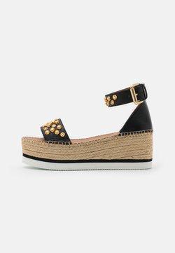 See by Chloé - Korkeakorkoiset sandaalit - nero