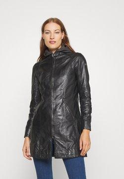Gipsy - ANDRA LAMAS - Krótki płaszcz - black
