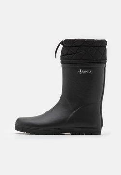 Aigle - WARM UNISEX - Bottes en caoutchouc - noir