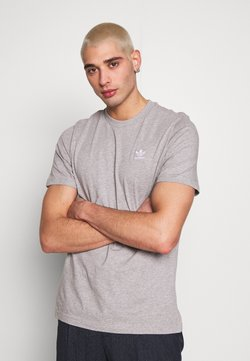 adidas Originals - ESSENTIAL TEE UNISEX - T-shirt basic - mottled grey