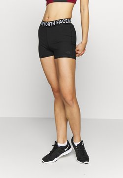 The North Face - WOMENS ESSENTIAL SHORTY - Tights - black