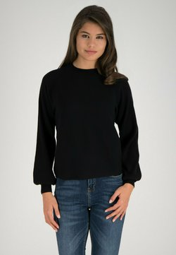 one more story - Strickpullover - schwarz