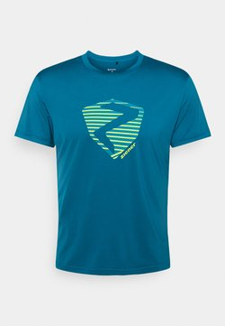Ziener - NOLAF MAN - T-Shirt print - crystal blue