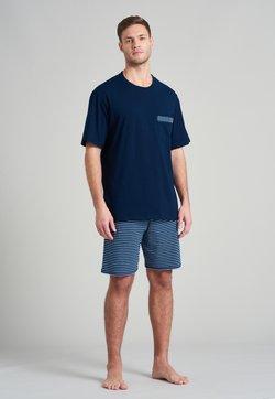 Schiesser - Nachtwäsche Set - blau
